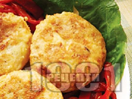 Пържени картофени кюфтета - снимка на рецептата